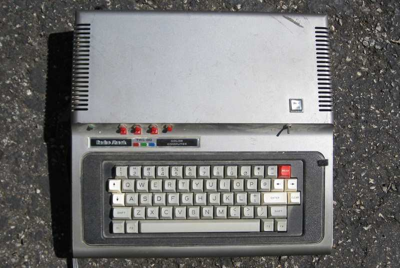 Grey TRS-80 Color Computer