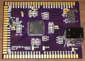 A3PN250 FPGA breakout board
