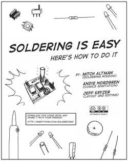 Soldering Is Easy cover, English version