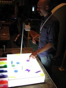 Ryan Raffa demonstrating RhythmSynthesis