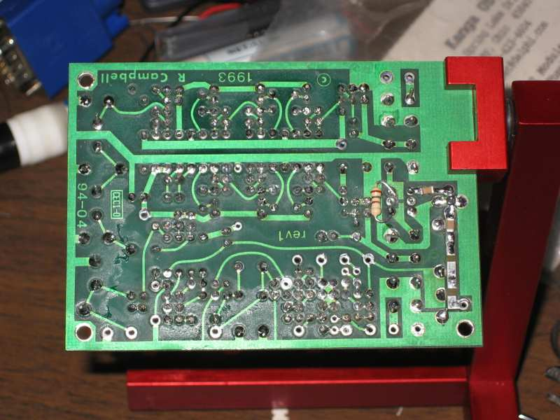 KK7B T2 phasing SSB transmitter, bottom side