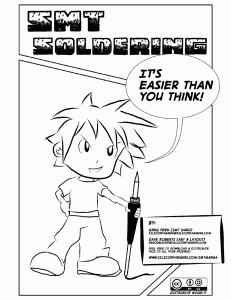 "Front page of ""SMT Soldering: It's Easier Than You Think"""