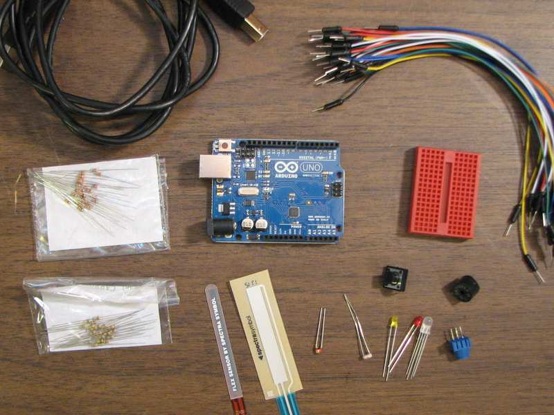 Sparkfun Starter Kit contents
